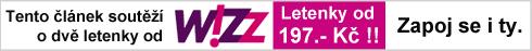 Wizzair je partnerem této soutěže