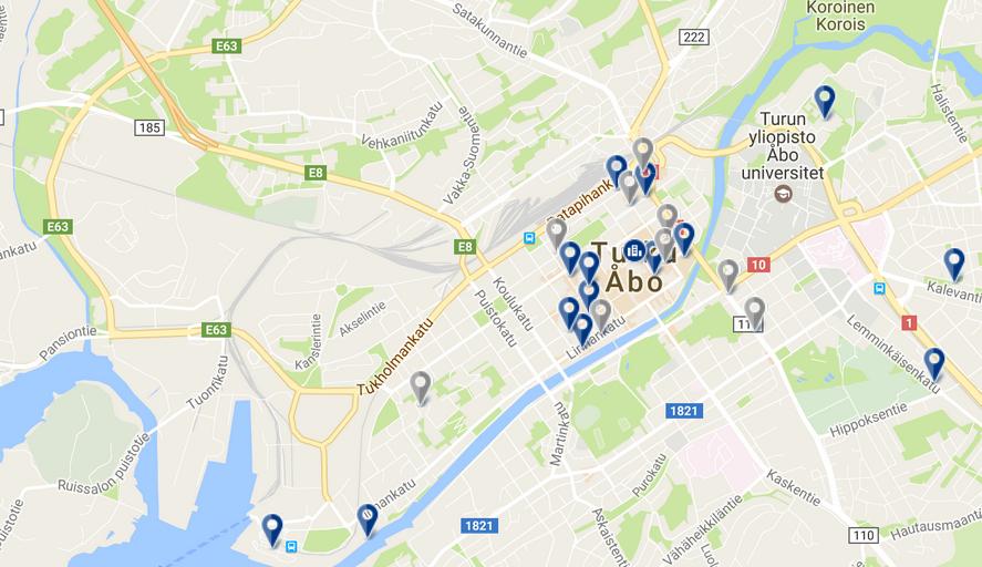 Letiště Turku (TKU) | Rádi cestujeme | nejen levné letenky, ubytování, zimní pobyty